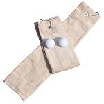 Golfhanddoek de Luxe Lichtbruin 014.50 Sand
