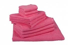 Handdoekenset Roze 350 gram