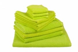 Handdoekenset Lichtgroen 350 gram