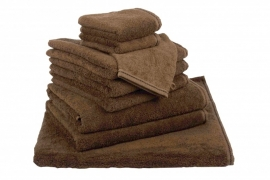 Handdoekenset Bruin 500 grams Chocolate Brown