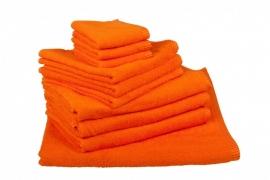 Handdoekenset Oranje 350 gram