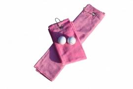 Golfhanddoek de Luxe Roze 014.50 Pink