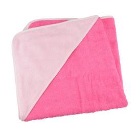 Babycape Roze-Lichtroze 75 x 75 cm