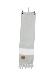 Hamam Marmaris Deluxe 100 x 180 cm Lichtgrijs - Wit