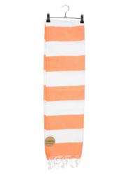 Haman Patai 100 x 180 cm Wit-Oranje
