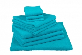 Handdoekenset Zeeblauw 350 grams
