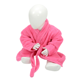Babybadjas Sjaalkraag Roze