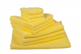 Handdoekenset Lichtgeel 350 gram