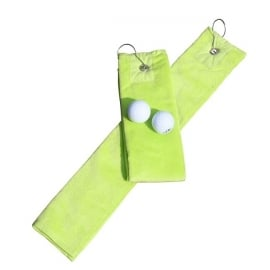 Golfhanddoek de Luxe Lichtgroen 014.50 Lime Green