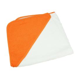 Babycape Wit-Oranje 75 x 75 cm