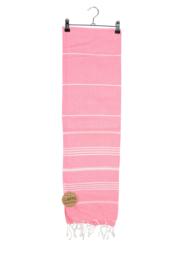 Haman Patai 100 x 180 cm Roze-Wit