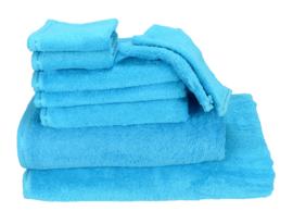 Grote Handdoek Zeeblauw - 450 gram