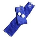 Golfhanddoek de Luxe Blauw 014.50 True Blue