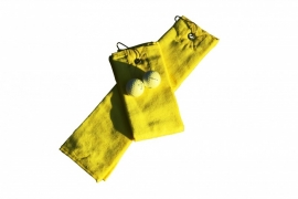 Golfhanddoek de Luxe Lichtgeel 014.50 Bright Yellow