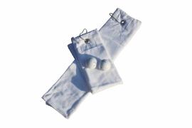 Golfhanddoek de Luxe Wit 014.50 White