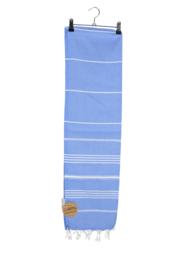 Haman Patai 100 x 180 cm Blauw-Wit
