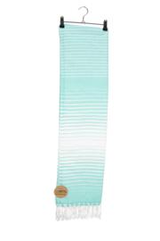 Haman Patai 100 x 180 cm Zeeblauw-Wit