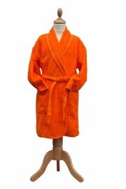 Kinderbadjas Sjaalkraag Oranje