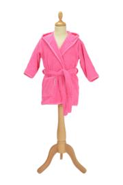 Kinderbadjas met capuchon Roze