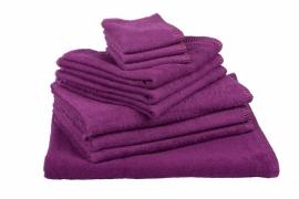 Handdoekenset Aubergine 350 gram