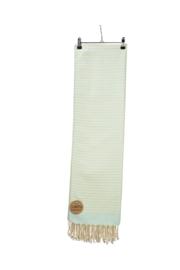 Hamam Bodrum Deluxe 100 x 180 cm Mintgroen - Ivoor