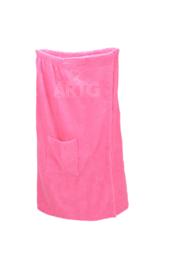 Sauna Kilt Dames met klittenband - Roze
