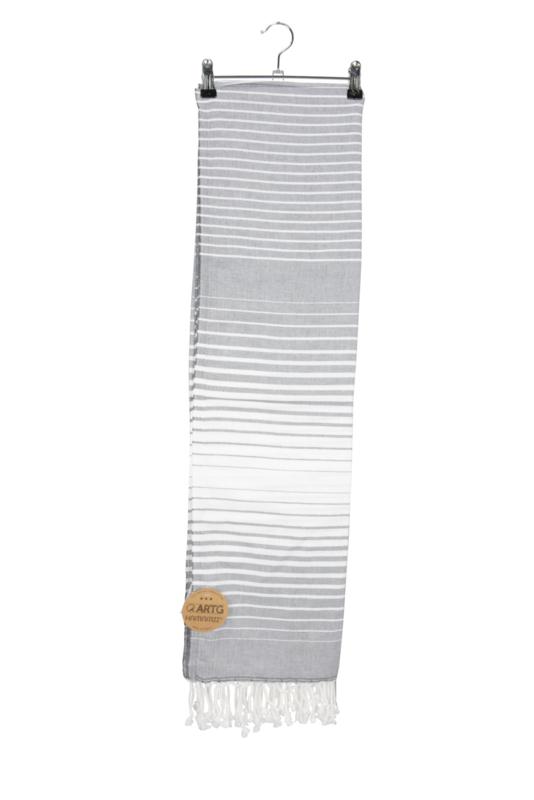 Haman Patai 100 x 180 cm Grijs-Wit