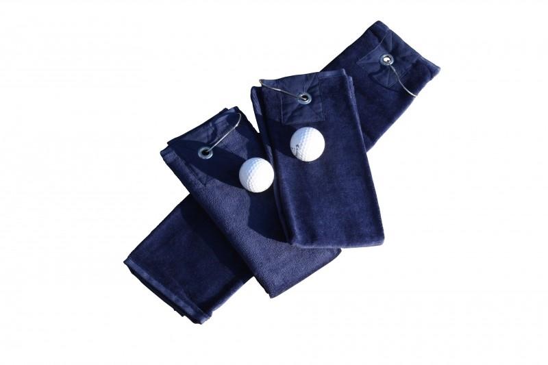 Golfhanddoek de Luxe Donkerblauw 014.50 French Navy