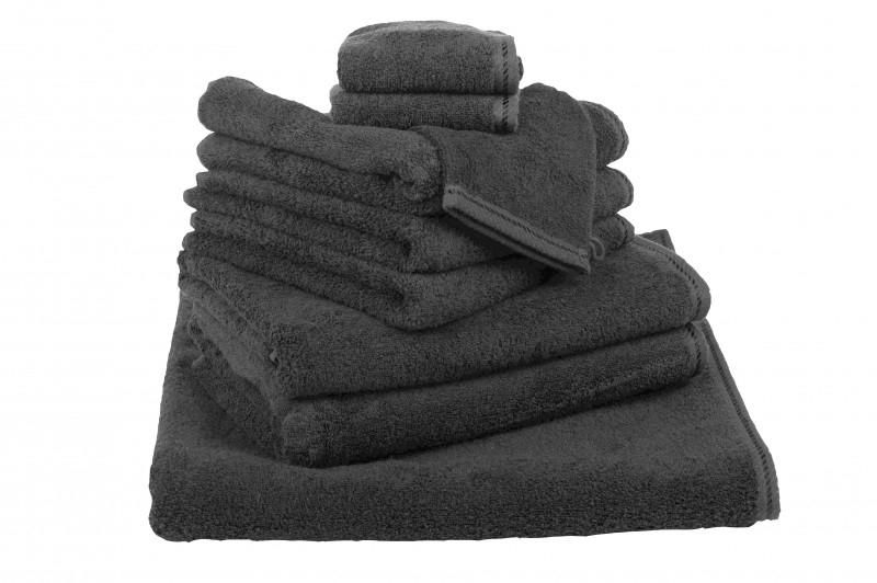 Handdoekenset Zwart 500 grams Black