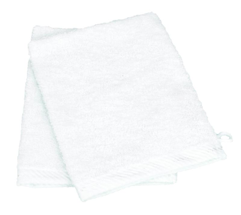 Washandjes Wit - White 500 gram