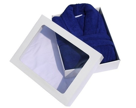 Badjas Middenblauw