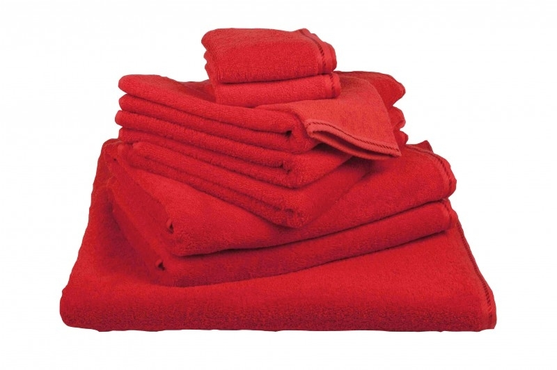 Handdoekenset Rood 500 gram