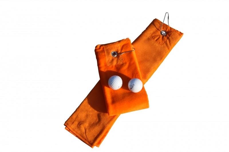 Golfhanddoek de Luxe Oranje 014.50 Bright Orange