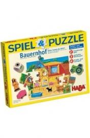 HABA Spel en puzzel BOERDERIJ