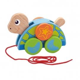 Schildpad trekfiguur