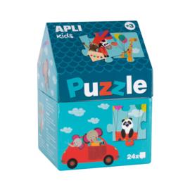 Apli Kids, Puzzel vervoersmiddelen