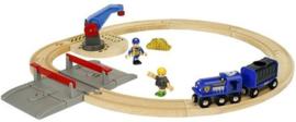 BRIO Politie Transportset
