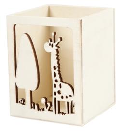 Pennenbakje Giraffe