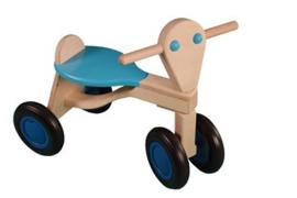 Berken Loopfiets lichtblauw Van Dijk Toys
