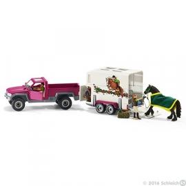 Pick-Up met Paardenaanhanger ( 42346)
