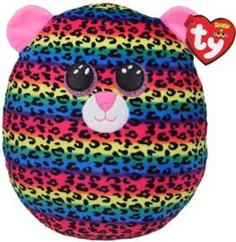 TY Knuffelkussen Luipaard Dot