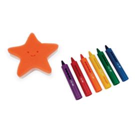 JANOD Badspeelgoed- kleuren in bad