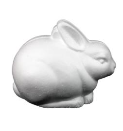 Styropor zittend konijn