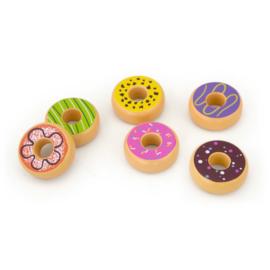 VIGATOYS Houten Donuts