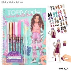 TOPModel Fashion Doodle Book