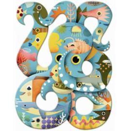 Djeco puzzel octopus