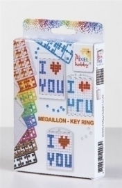 Pixel Medaillon set