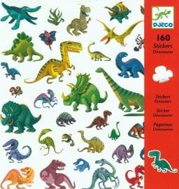 Djeco Stickers Dinosaurussen
