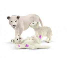 Schleich Leeuwenmoeder met welpjes