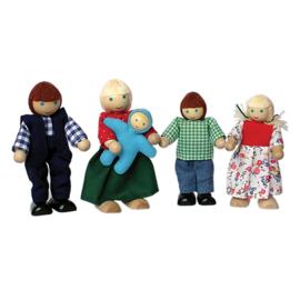 Poppenhuispoppetjes Familie Klein